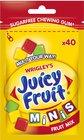 WR Juicy Fruit minis